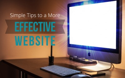 Simple Tips to a More Effective Website
