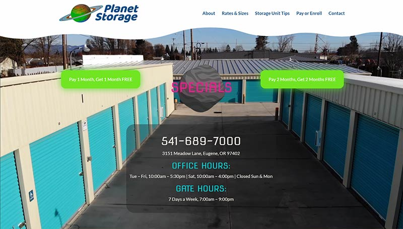planet storage website